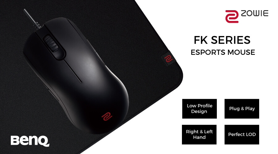 c01ec2bb795 BenQ ZOWIE FK1 E-Sports Ambidextrous Optical Gaming Mouse BUY IN ...
