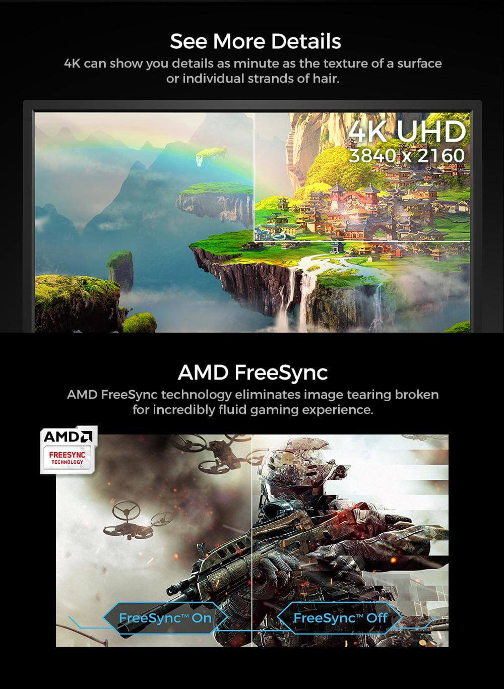 BenQ EL2870U 4K HDR 28 inch Best for PS4 Pro & Xbox One X