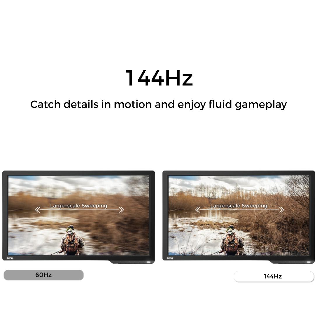 HomeMonitorsBenQ MonitorsBenQ ZOWIE XL2411P 24 inch 24″ 144Hz 1ms Esports Gaming Monitor (Ready for PUBG). 🔍