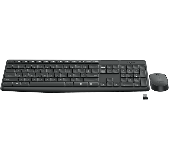 7d32dcc67bb Logitech MK235 Wireless Keyboard and Mouse (920-007939) | Easetec