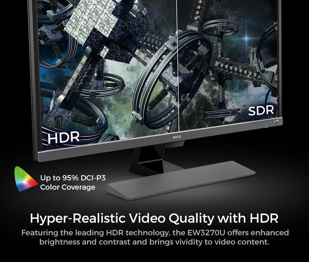 BenQ EW3270U 4K HDR 32 inch 32